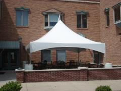 Rental store for Frame Tent, 20X20 Marquee Backyard Packa in Columbia MO