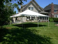 Rental store for OTC, Tent 20X20 Party Canopy Package in Columbia MO
