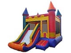Rental store for Inflatable, Castle Slide Combo in Columbia MO