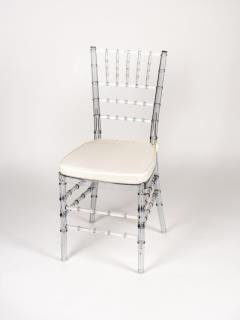 Rental store for Chair, Chiavari Clear in Columbia MO