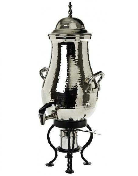 Where to find Coffee Urn, Hammered Steel  25 Cup in Columbia