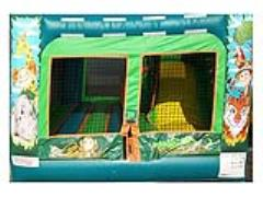 Rental store for Inflatable, 2in1 Jungle in Columbia MO