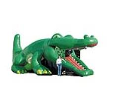 Rental store for Inflatable, Gator Hide n Slide in Columbia MO