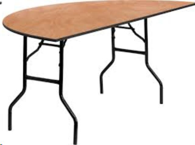 Where to find Table, Half Round  60 Inch in Columbia