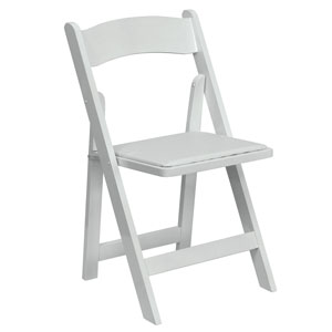 Where to find Chair, Padded White in Columbia
