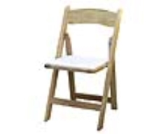 Rental store for Chair, Padded Wooden in Columbia MO