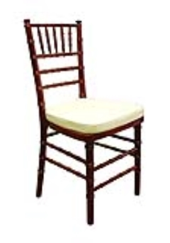 Rental store for Chair, Chiavari Mahogany in Columbia MO