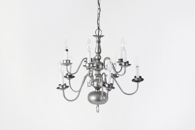 Where to find Chandelier, Silver 10 Lt in Columbia