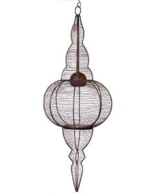 Rental store for Chandelier, Rustic Small Ball and Cone in Columbia MO
