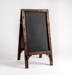 Rental store for Chalkboard, Wood 2 Sided in Columbia MO