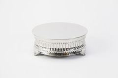 Rental store for Cake Stand, Round Silver 14in CnCv in Columbia MO