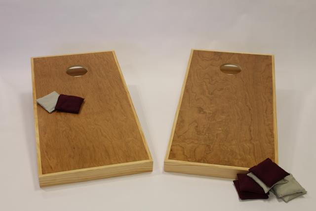 Where to find Natural Wood Cornhole   Bags in Columbia