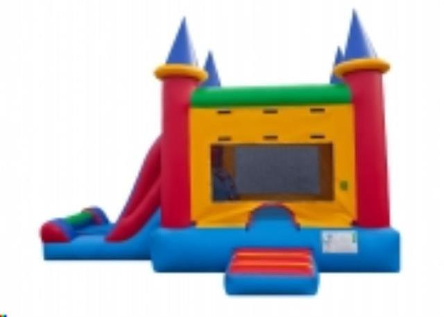 Where to find Inflatable, Castle Slide Combo in Columbia