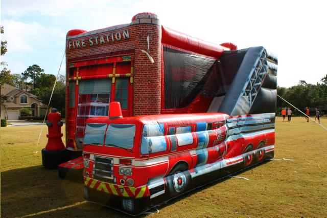 Where to find Inflatable, Fire Station Combo in Columbia