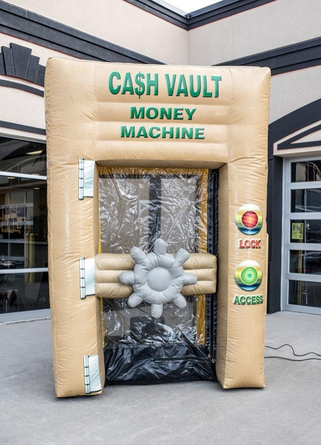 Where to find Inflatable, Cash Vault Money Machine in Columbia