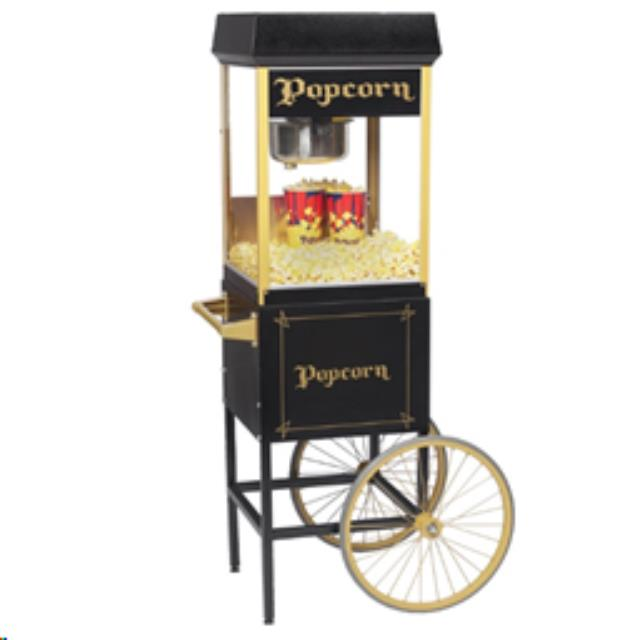 Where to find Popcorn Popper, With Cart Black and Gold in Columbia