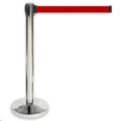 Rental store for Stanchion, Stand Retractable 8 ft in Columbia MO