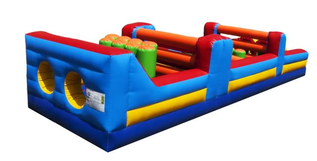 Where to find Inflatable, 35 ft Obstacle Course in Columbia