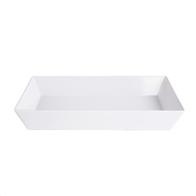 Where to find Tray, Rectangle White 18 in X 12 in in Columbia