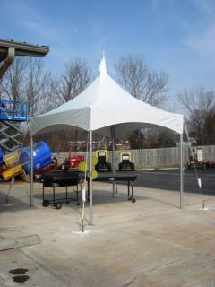 Rental store for Frame Tent, 10X10 Marquee in Columbia MO