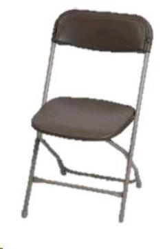 Where to rent Chair, Folding Black in Columbia MO