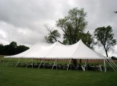 Rental store for Pole Tent,  40X40 in Columbia MO