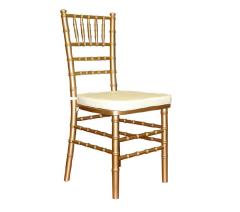 Rental store for Chair, Chiavari Gold in Columbia MO