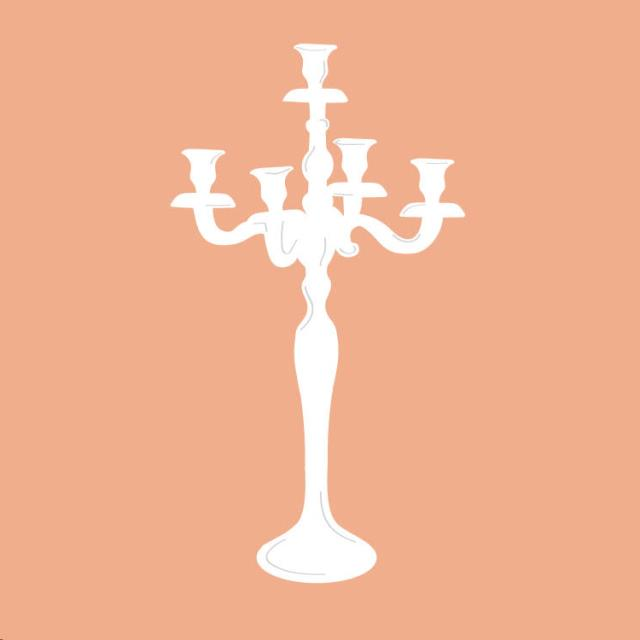 Candelabra rentals in Columbia, MO: mechanical candle, candlelighter, candelabra
